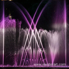 outdoor water fountains with light for sale